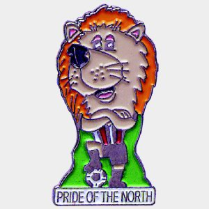 Im�n original personalizado, <p>Imán original personalizado de PRIDE OF THE NORTH</p>