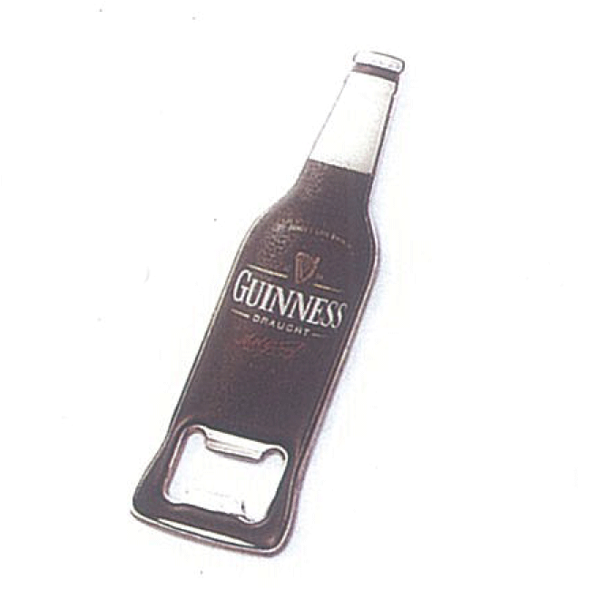 Abre Botellas metal, <p>Abre Botellas metal de Guinness</p>