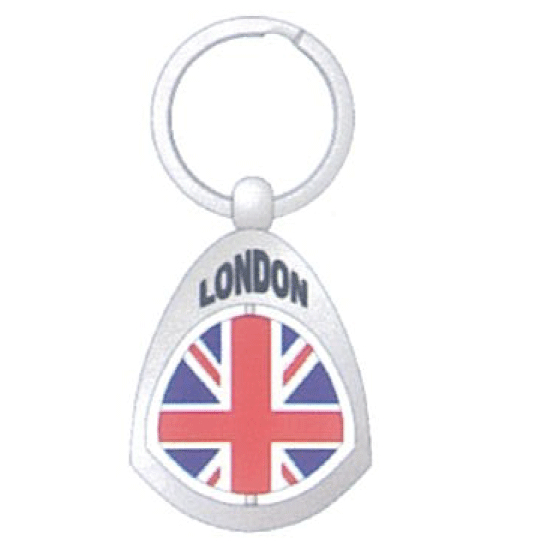 Llavero ref. 101455, <p>llavero de metal de London</p>
