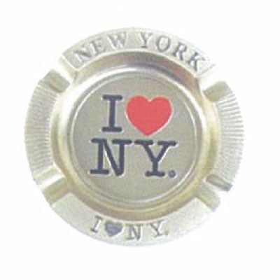 Cenicero ref. 101872, <p>Cenicero metal de I LOVE NEW YORK.</p>