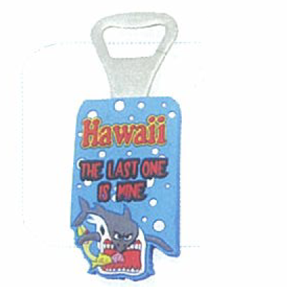 Abre botellas personalizado, <p>Abre Botellas personalizado azul de Hawaii the last one in mine</p>